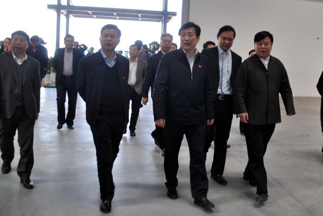 江西省委常委,宣传部部长赵力平到安驰公司走访调研